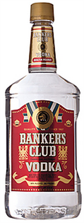 Banker's Club Vodka 1.00l - Case of 12